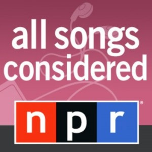 The mandatory All Songs Considered podcast.