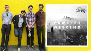 Vampire Weekend's latest Modern Vampires of the City.