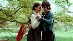 "Abbie Cornish and Ben Whishaw in Jane Campion's ""Bright Star""."