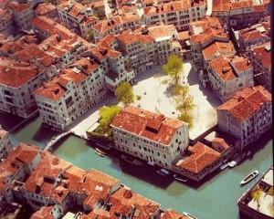 The Jewish Ghetto in Venice.