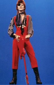 Bowie as Ziggy.