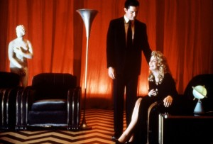 Twin Peaks' dream sequence.