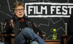 Redford set up the Sundance Film Festival in '78, and met Chandor there when he screened his debut.