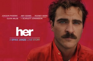 "Spike Jonze's ""Her""."