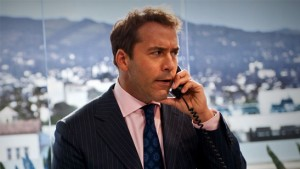 Jeremy Piven as Ari Gold in Entourage;  happier times.