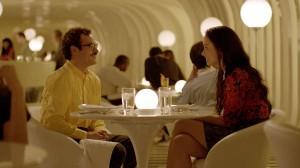 """Joaquin Phoenix an Olivia Wilde in """"Her""""."""