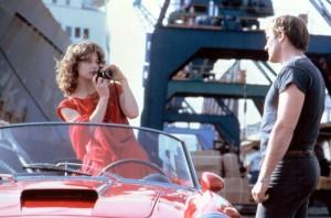 Nastassja Kinski and Gerard Depardieu in The Moon InThe Gutter.