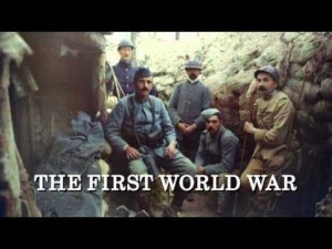 Hew Strachan's 1st. World War on BBC4.