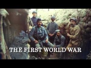 Hew Strachan's 1st. World War on BBC4.