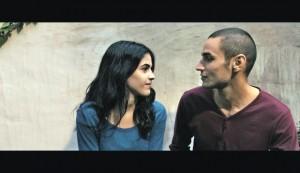 Adam Bakri and Leem Lubani in Omar.
