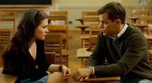 "Anna Paquin and Matt Damon in ""Margaret""."