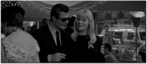 Nico in La Dolce Vita before joining Reed and Warhol in The Velvet Underground.