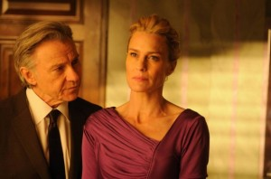 Harvey Keitel and Robin Wright in The Congress.
