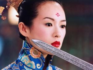 Ziyi Zhang in Crouching Tiger, Hidden Dragon