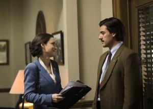 Winona Ryder, Oscar Isaac. photo credit: Paul Schiraldi/courtesy of HBO.