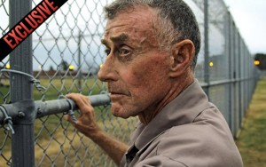 Michael Peterson, astonishingly, behind bars.