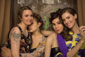 Lena Dunham, Jemima Kirke, Zosia Mamet, Allison Williams.