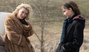 Rooney Mara with Cate Blanchett as Carol.