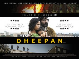 The 2015 winner Dheepan.