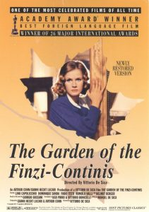The Garden of the Finzi-Continis.