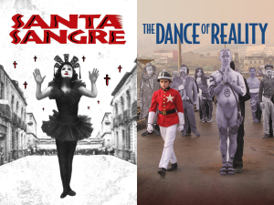 Jodorowsky's most recent pair of comeback films, Santa Sangre and the Dream of Reality.