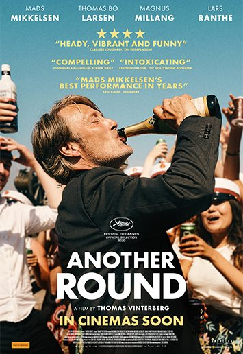 Movie poster for Another Round.